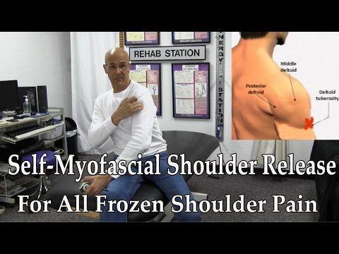 Chiropractic Proven Self-Myofascial Release for Frozen Shoulder Pain