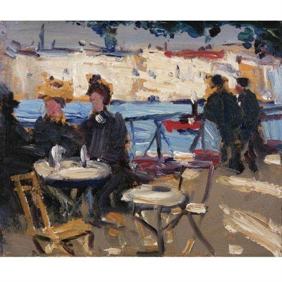 James Wilson Morrice, A Café Scene
