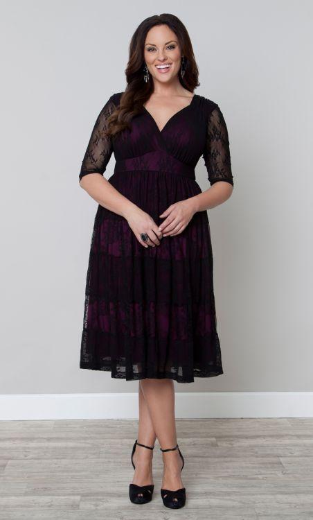 Tiers of Joy Lace Dress http://www.kiyonna.com/plus-size-clothing/Customer_Favorites/12120901