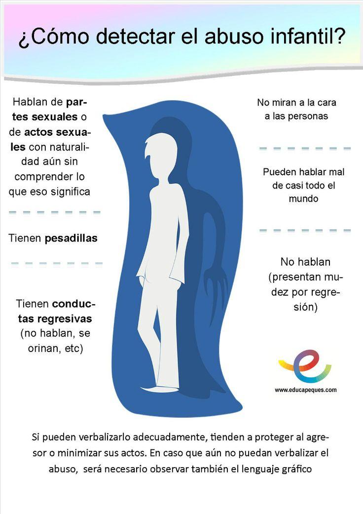 Infografia:como detectar el abuso infantil
