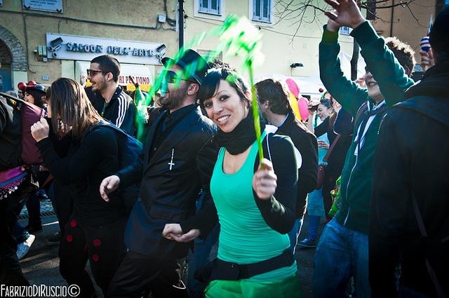 Carnevalone Liberato 2012 a Poggio Mirteto, Fabrizio Di Ruscio ©