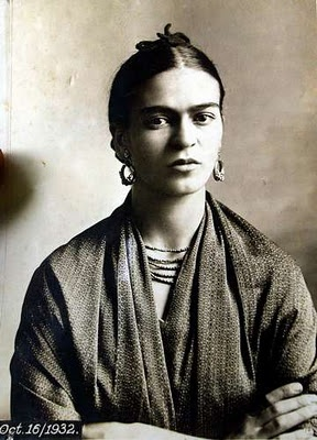 Frida. Photo de Tina Modotti. 16 octobre 1932.