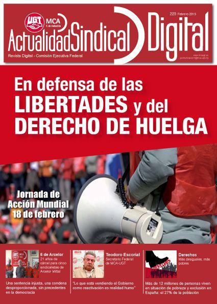 Ha salido Actualidad Sindical Digital 223 http://mcaugt.org/noticia.php?cn=22191