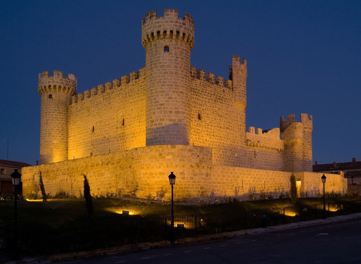 Castillo de Olmillos de Sasamón. Burgos