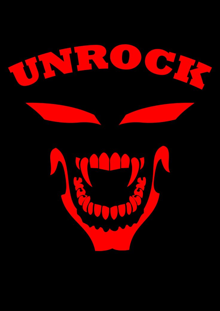 Desain Logo Unrock Clothing