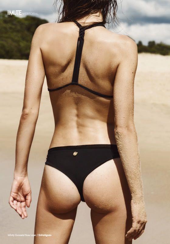 | #Entreaguas #Infinity Gunmetal Beat #LingerieSwimwear shot at the beautiful beaches of Australia | #FashionEditorial #iMute