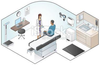 Examination Room Illustration Royalty Free Stock Vector Art Illustration