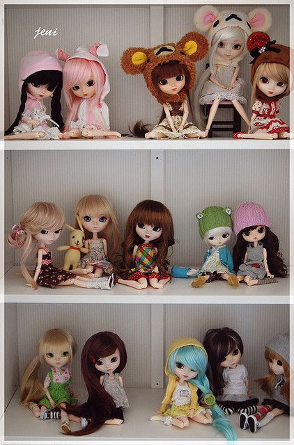 One lucky girls fabulous pullip collection on flickr
