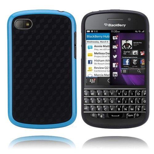 Edge (Blå) Blackberry Q10 Cover
