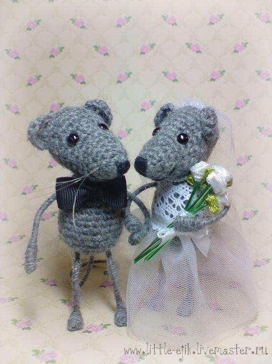 Купить Мышиная свадьба - серый, мыши, мышь, мышки, мышонок, свадьба, свадебный…