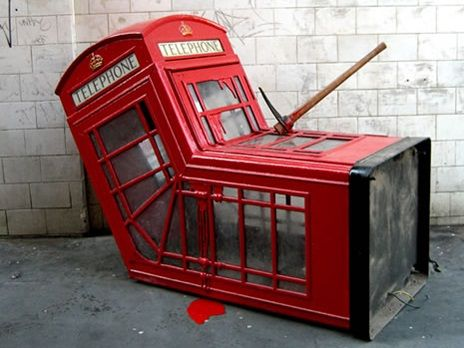 The World's Top 10 Most Creative Repurposed Phone Booths  #Phonebooths #Upcycling #Repurpose