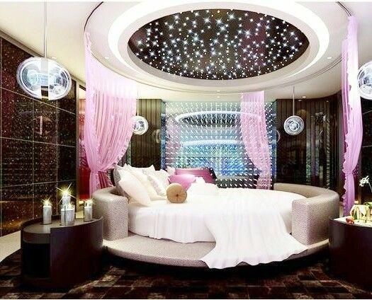 ديكورات جبس غرف نوم رومانسيه للعرسان Cool Rooms Bedroom False Ceiling Design Ceiling Design Bedroom
