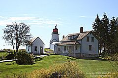 Panoramio - Photo of Burnt Island Lighthouse - Boothbay Harbor, Maine