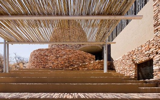 Mapungubwe Interpretation Center - South Africa - Peter Rich Architects, photo © Iwan Baan