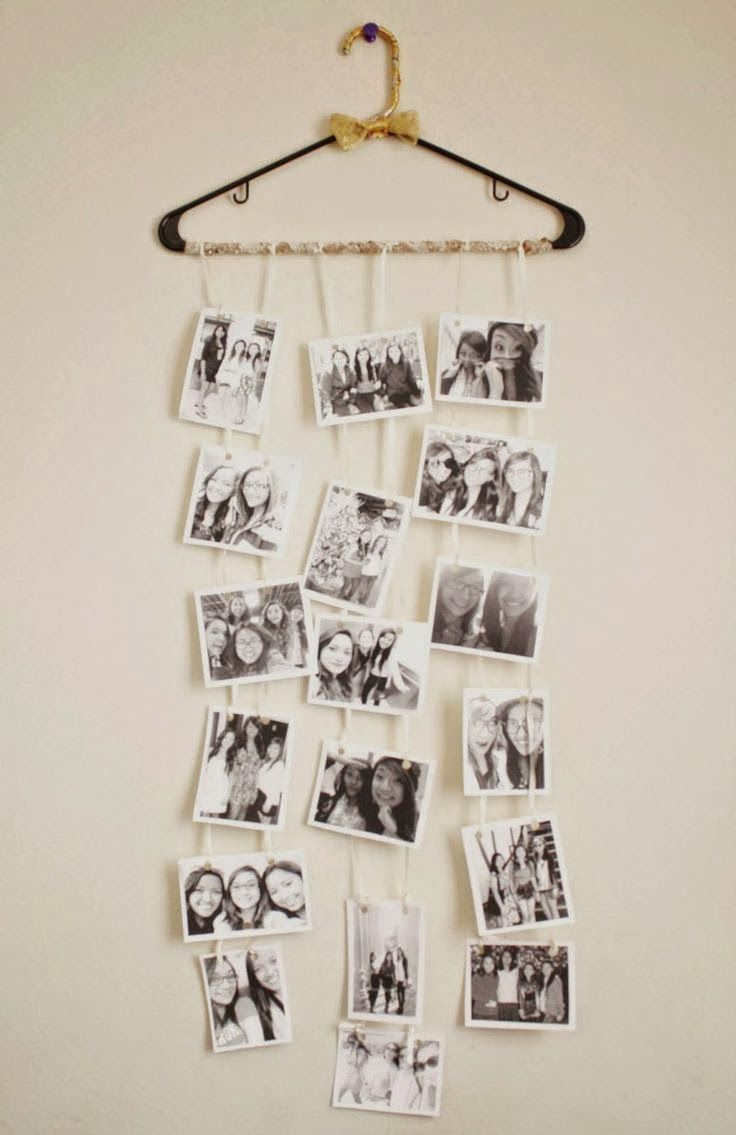 25 best ideas about polaroid display on pinterest for Cute picture hanging ideas