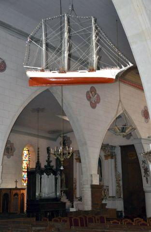 Eglise Sainte-Catherine  à la Flotte-en-Ré, ex voto