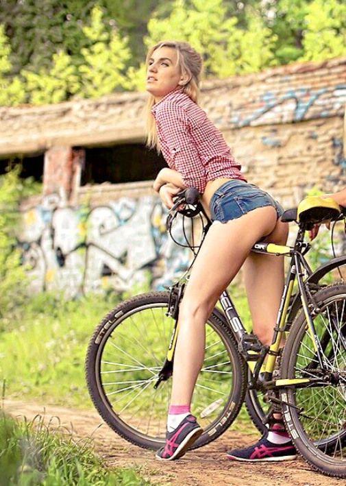 girl bikes teens naked