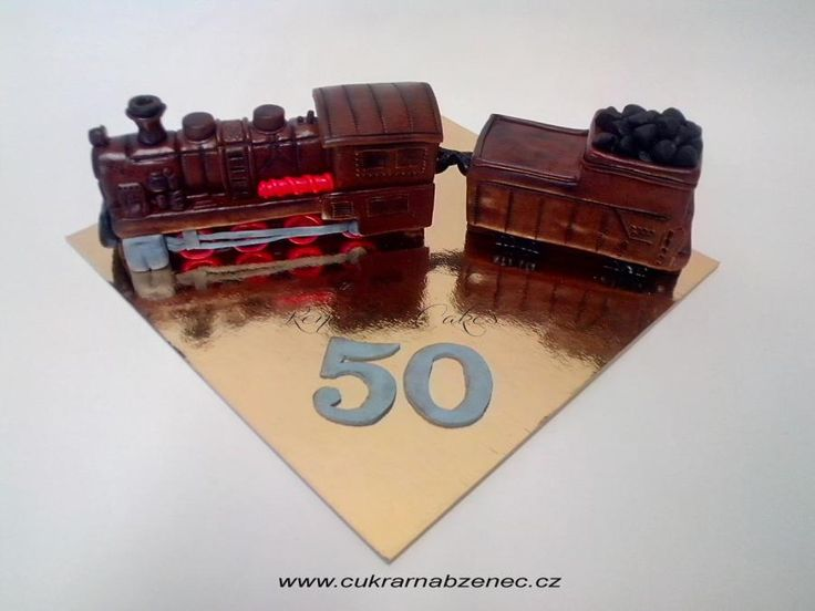 Sugar Train To Fiftier  - Cake by Renata
