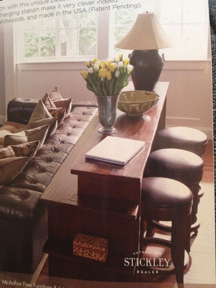 Best 20 Bar Behind Couch Ideas On Pinterest Table
