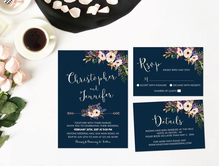 Pouring sand glass wedding invitations