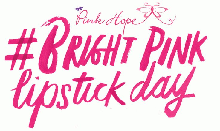 Bright Pink Lipstick Day at The Australasian College Broadway