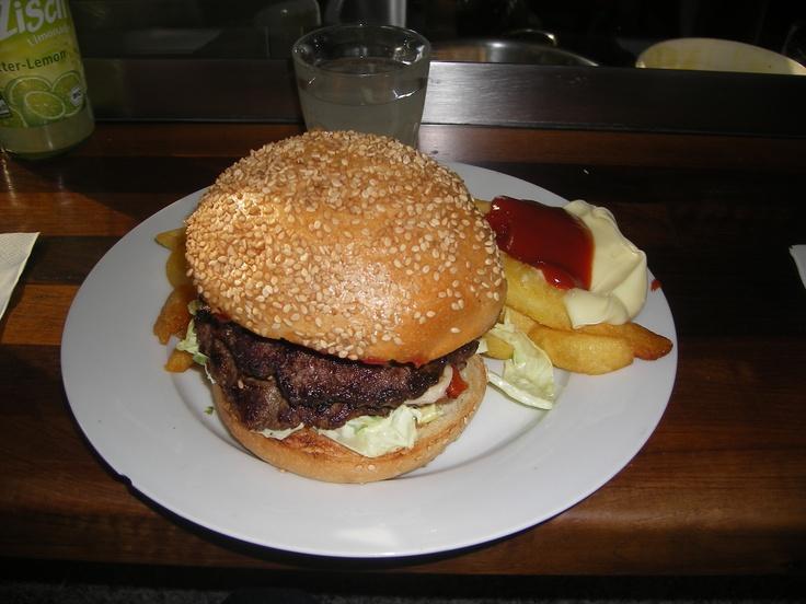 Les hamburgers Allemands du Marheineke Markthalle !