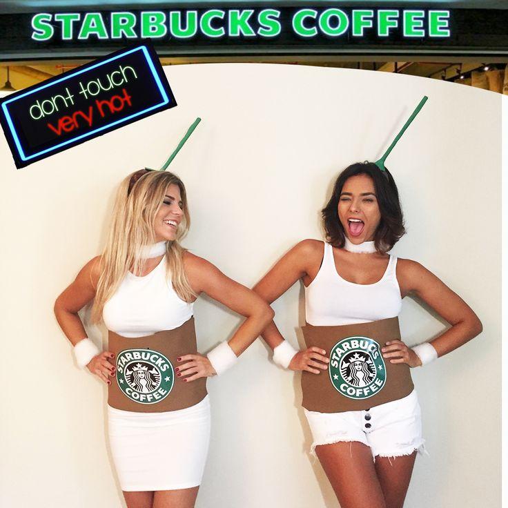Mais uma fantasia para vocês arrasarem nos bloquinhos do Rio de Janeiro. A Fantasia de Starbucks ! Para criar essa fantasia vocês vão precisar de: 1. EVA marrom, branco e verde 2. Arco com base lar...