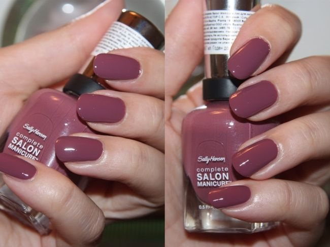 sally hansen 360 plum's the word