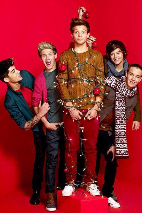 One Direction Christmas Photoshoot