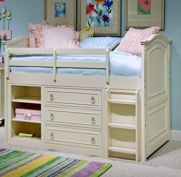 best 25 kids beds with storage ideas on pinterest bunk 19966 | 441cec67329f67616cd1ff6df61a4661 low loft beds lofted beds