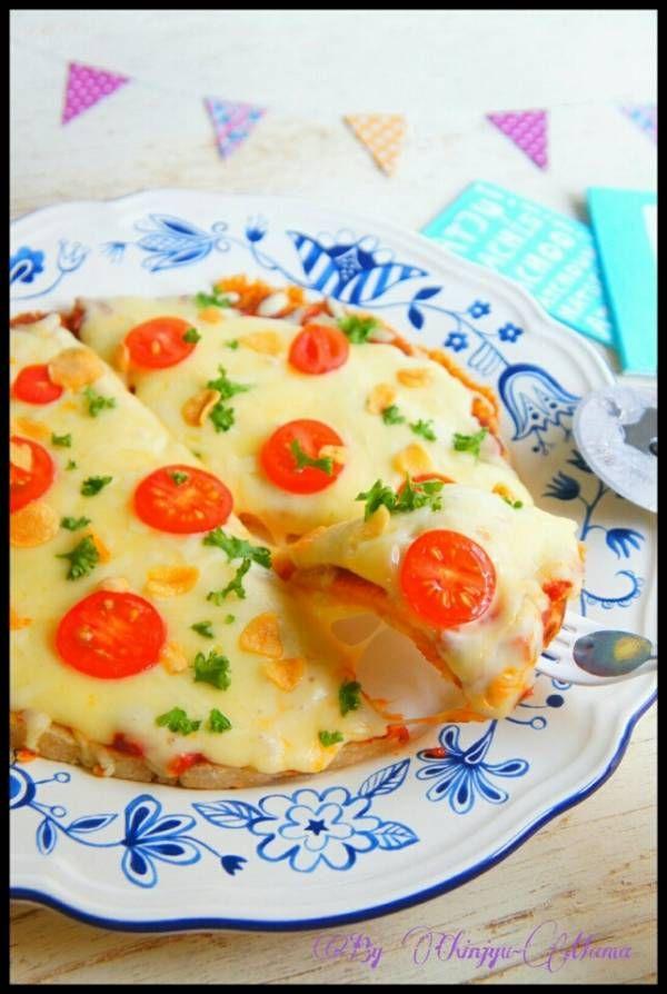 おススメ/簡単【量り不要!ピザ生地作らずに!】パン粉でカリカリもっちりピザ : 珍獣ママ 公式ブログ
