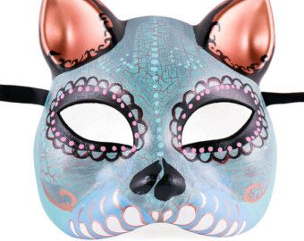 Viuda Negra Mask Day of the Dead full faced mask by EffigyMasks