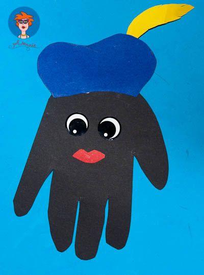 Zwarte Piet handje 2