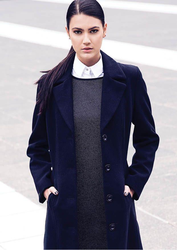 The long winter coat #winter2014