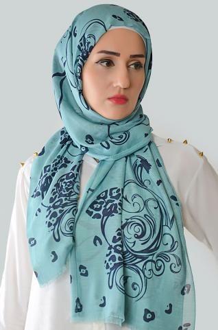 Beautiful causal shawl with cute prints, goes with many outfit styles and many events.  #islamicfashion #shawl #hijab #hijabista 3fashionista #muslimah #muhajabah