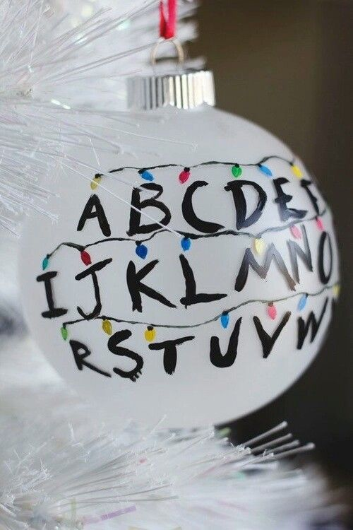 Stranger Things DIY ornament