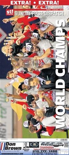 St. Louis Cardinals World Series Champions Poster - Saturdays Extra Edition