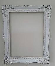 Shabby Chic Large White PICTURE/PHOTO FRAME Vintage Wedding Photo Booth Display  in Home, Furniture & DIY, Home Decor, Photo & Picture Frames | eBay