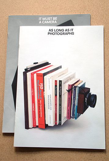 Taiyo Onorato and Nico Krebs - From As Long As It Photographs It Must Be A Camera (book) / http://www.tonk.ch