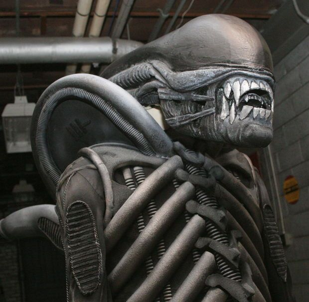 Amazing Alien costume!