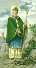 You can read about the history of St. Patrick's Day as well as see a list of lessons and other resources. Pictured is Saint Patrick.