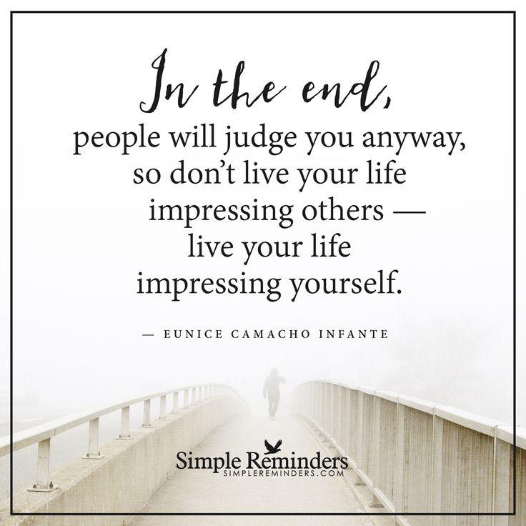 http://www.loalover.com/live-your-life-impressing-yourself/ - Live your life impressing yourself