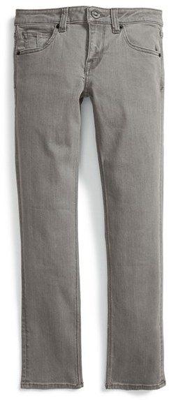 Boy's Volcom 'Vorta' Slim Fit Jeans