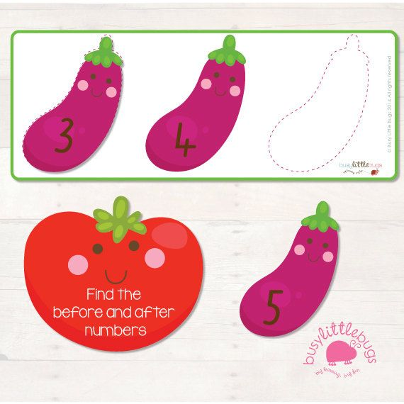 This is a new early maths game, as part of our Very Veggie range of educational printables!  This is a great game for your little ones to