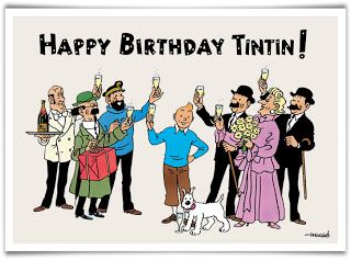 On January 10, 1929, Tintin in the Land of the Soviets began.[7] Every issue featured two pages of the story, and Hergé often made covers for the supplement depicting Tintin as well.