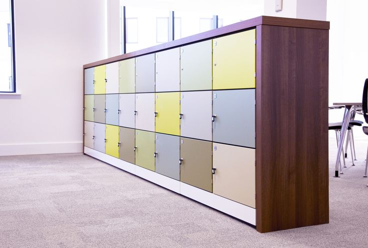 HotLocker: our range of flexible, designer lockers for secure personal storage. Display lockers where they are most needed – in the middle of the workplace!