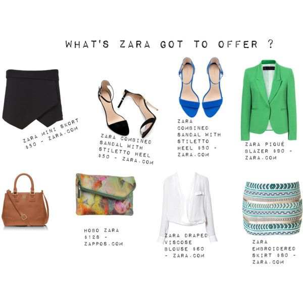 """""""What's Zara got to Offer ?"""" by thewhiteboard on Polyvore"""