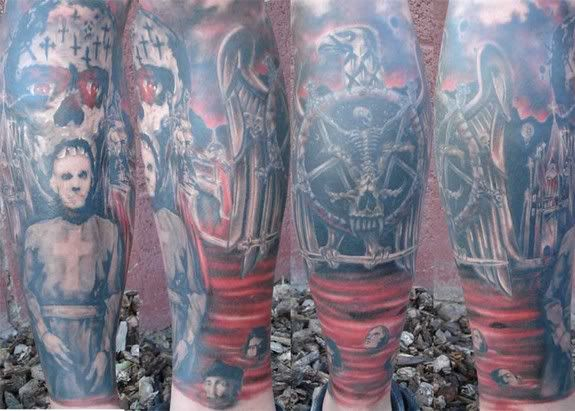 Six Feet Under Band Art: 100 Best Images About BAND'S TATTOOS On Pinterest