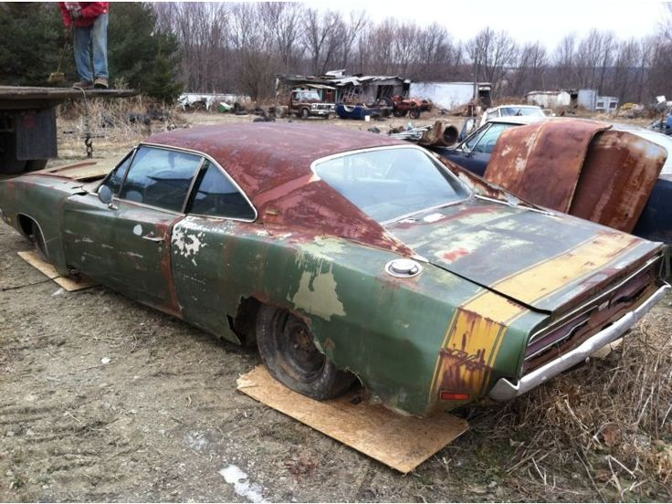 Oh the potential left in this 1969 Charger, if only I could get a hold of it