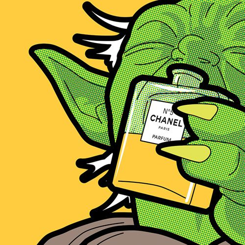 """Here's an amusing pop art series created by artist Greg Guillemin that he calls  """"The Secret Life of Heroes."""""""